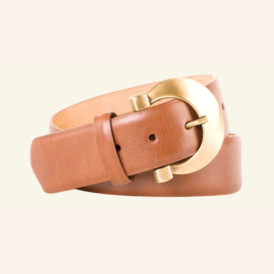 "1⅝"" Glazed Calf Belt"