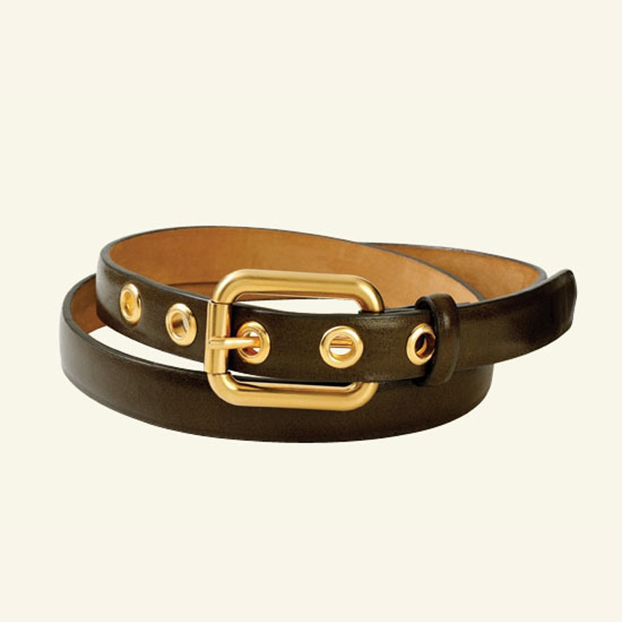 "¾"" Glazed Calf Belt"