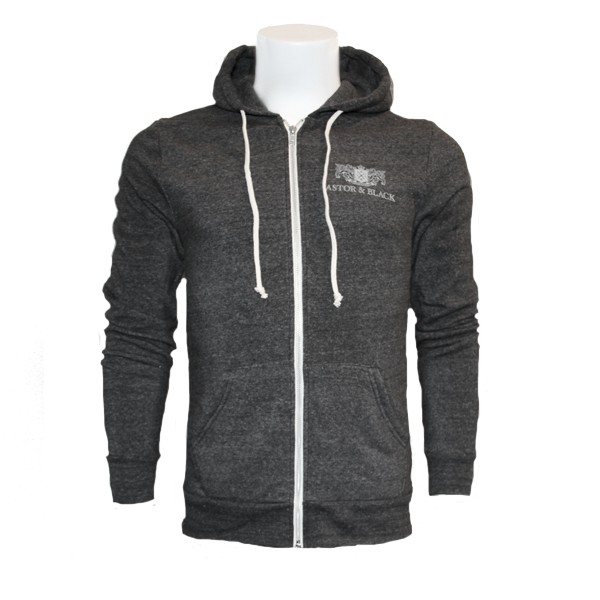 Astor & Black Charcoal Zip-Up