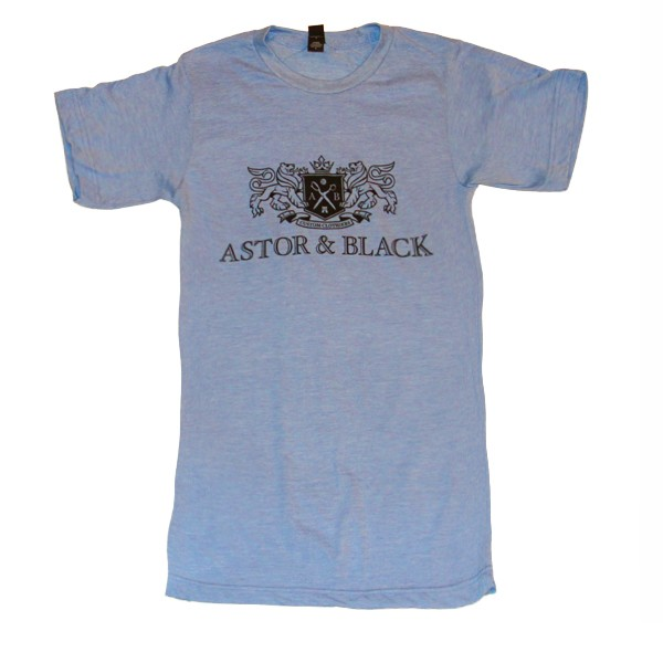 Astor & Black Black on Blue Crew