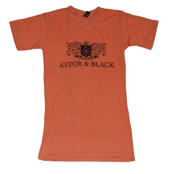 Astor & Black Black on Orange Crew