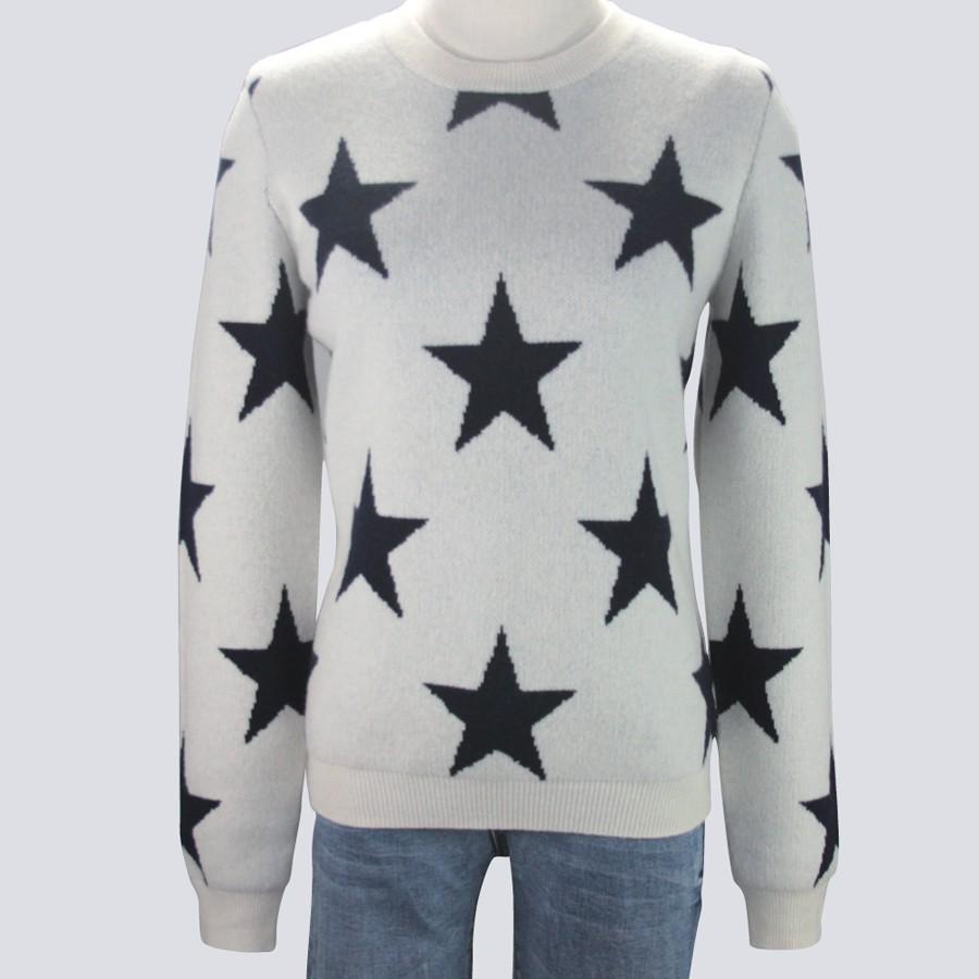 Ladies Star Sweater