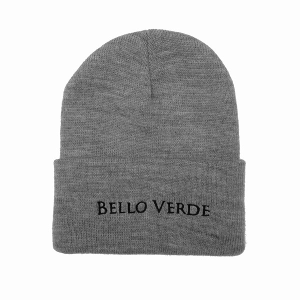 Bello Verde Grey Knit Hat