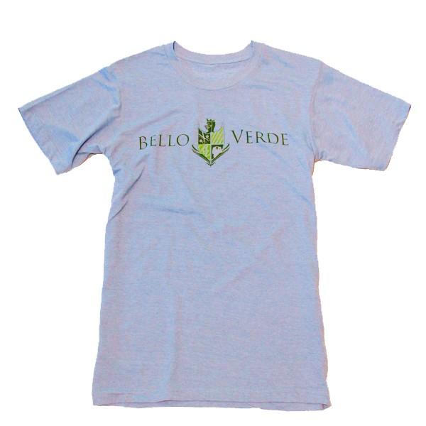 Bello Verde Green on Blue Crew