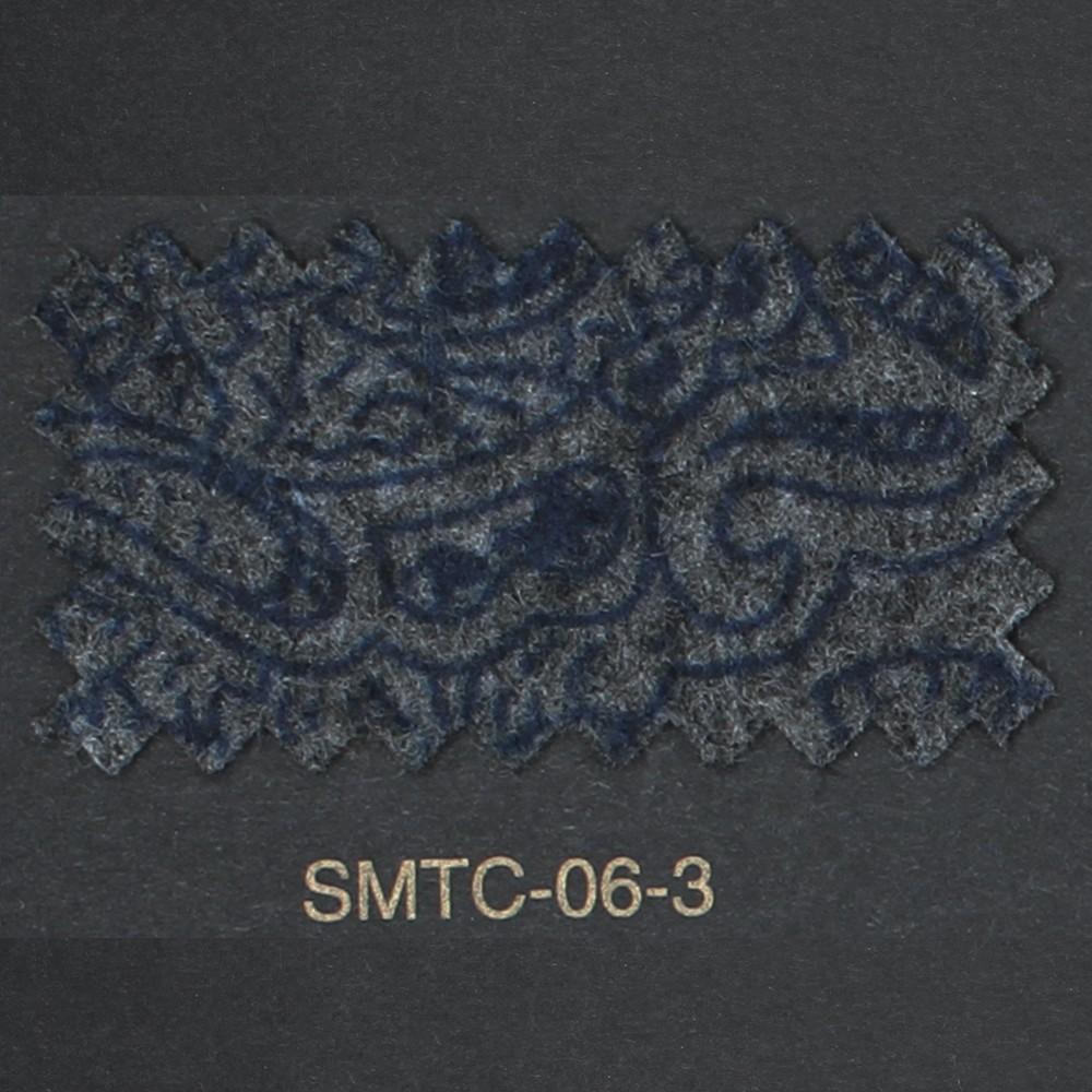 Charcoal and Navy Paisley (FSMTC063)