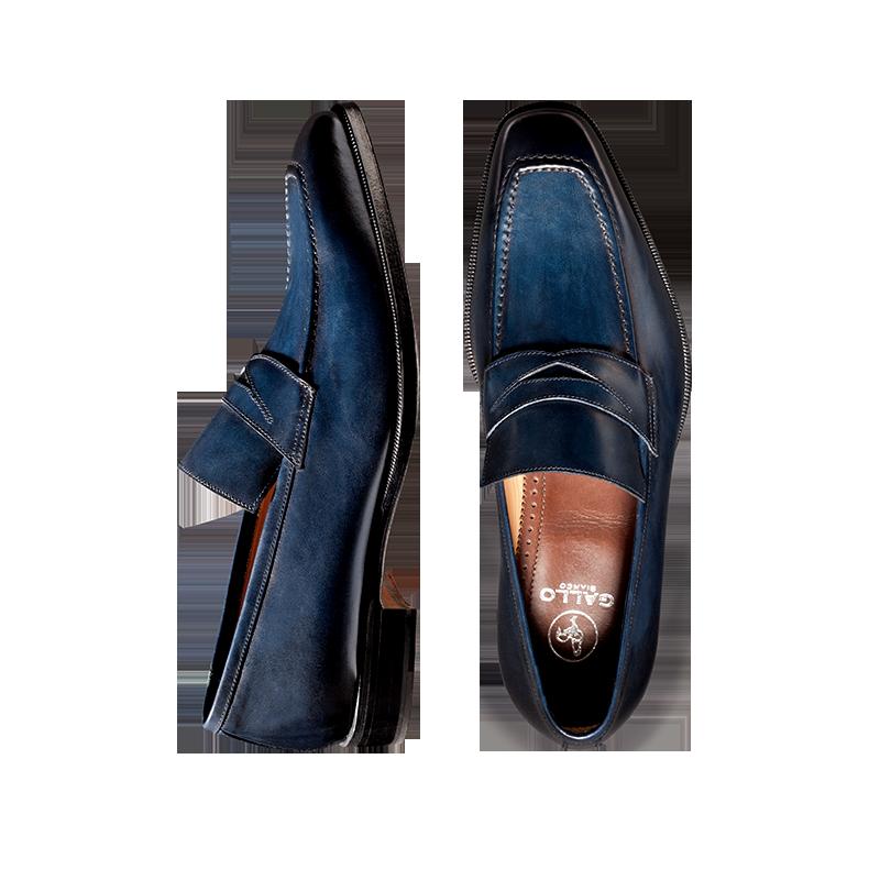 Navy Loafer