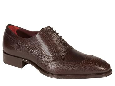 LUGANO Classic Perforated WingTip Oxford