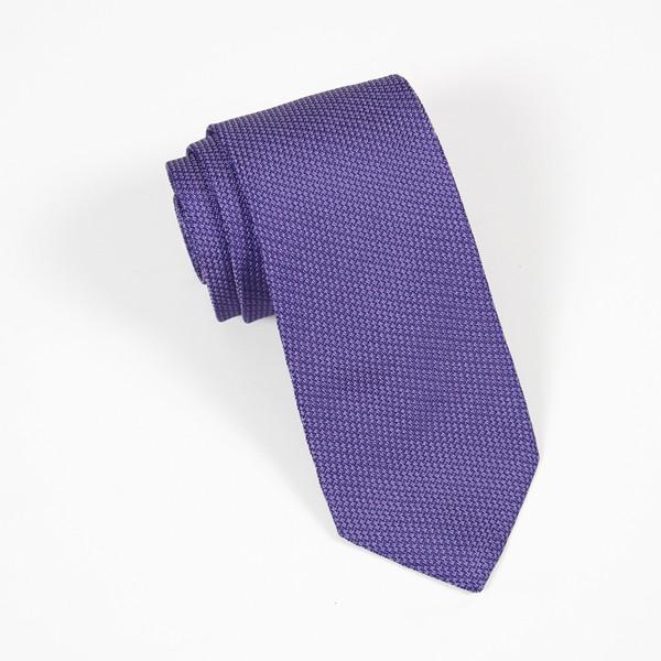 Purple Textured Solid Tie