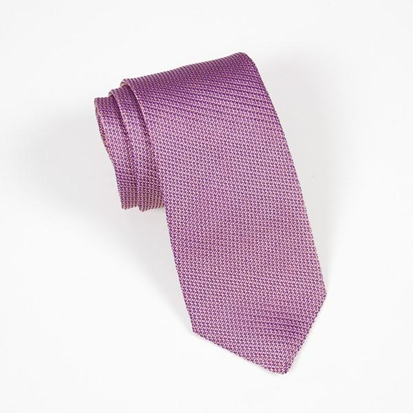 Pink Textured Solid Tie