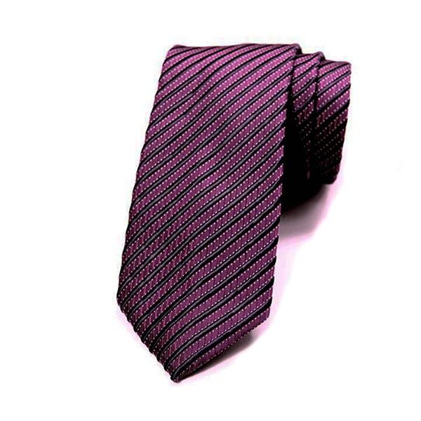 Berry/Navy Stripe Tie