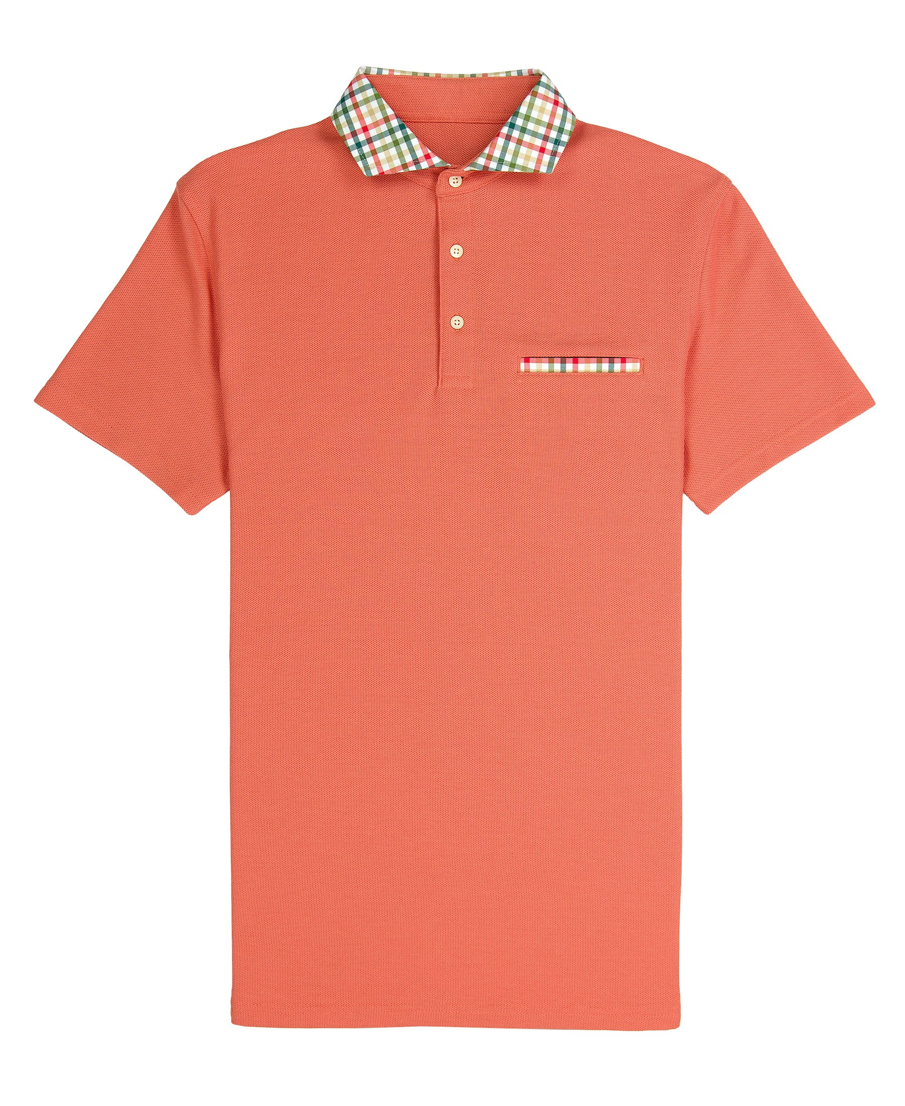 Carnegie - Soft Orange Comfort Pique