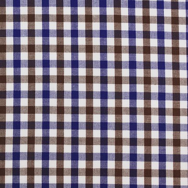Brown/Blue/White Gingham (SV 513605-190)