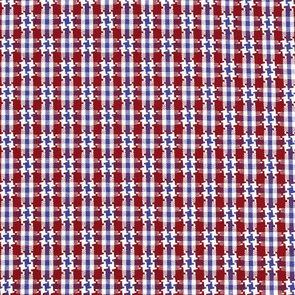 Red/Blue/White Houndstooth Check (SV 513634-190)