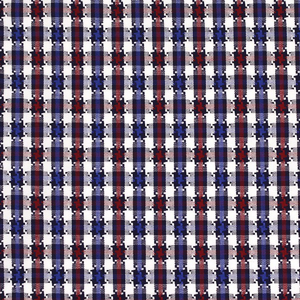 Red/Blue/White Houndstooth Check (SV 513637-190)