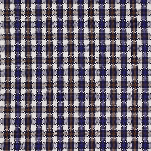 Brown/Blue/White Houndstooth Check (SV 513639-190)