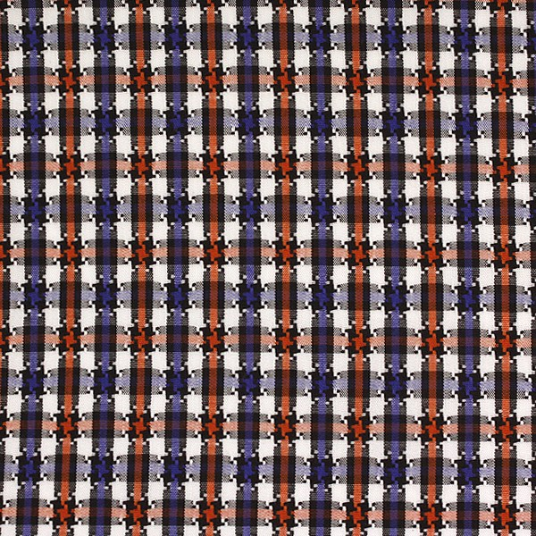 Orange/Blue/White Houndstooth Check (SV 513640-190)