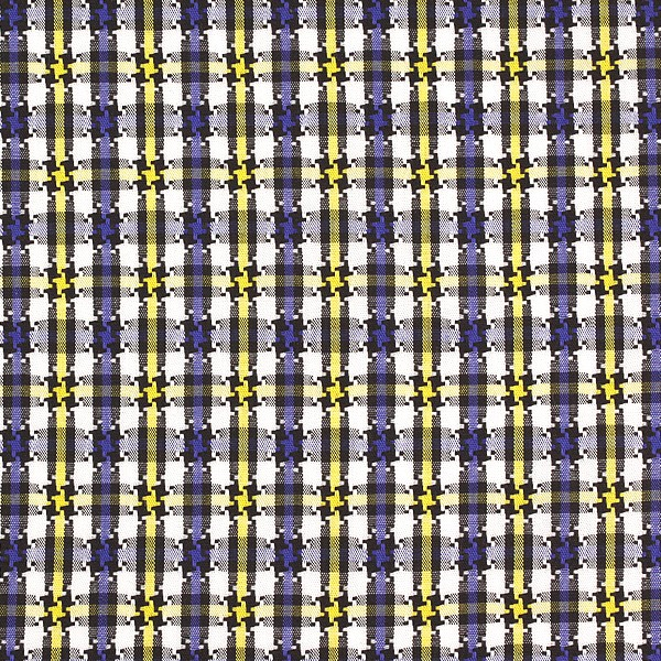 Blue/Yellow/White Houndstooth Check (SV 513641-190)