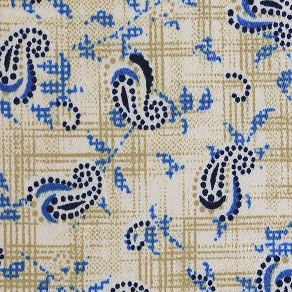 Cream/Blue/White Paisley Print (SV 514119-200)