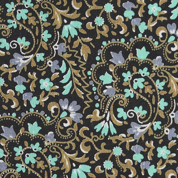 Black/Teal/Grey Floral Print (SV 514125-200)