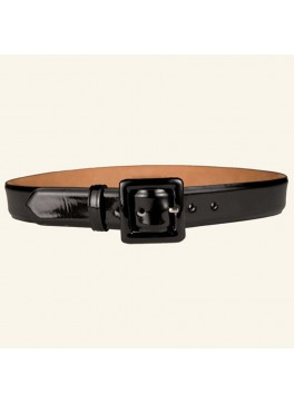 "1½"" Patent Leather Calf Belt"