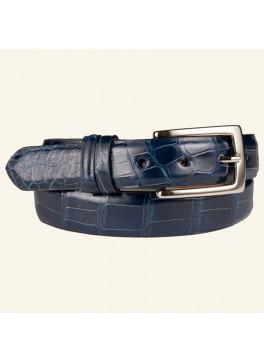 """1⅛"""" Women's Glazed Alligator Belt"""