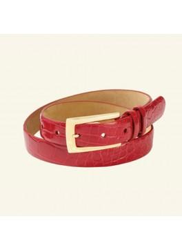 """1"""" Women's Glazed Alligator Belt"""