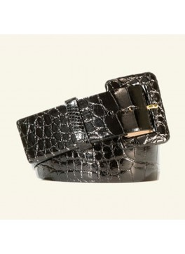 "2"" Women's Glazed Alligator Belt"