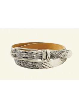 "¾"" Women's Lizard Belt"