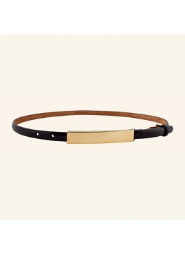 "⅝"" Glazed Calf Belt"