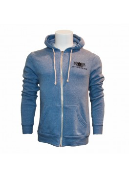 Astor & Black Light Blue Zip-Up