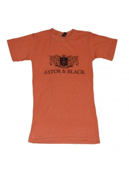 Astor & Black Black on Orange Crew