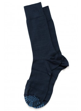 Solid Mid-Calf Dress Socks