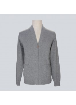 Zip Vee Cardigan