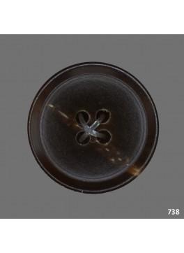 Horn Medium Brown (B738)