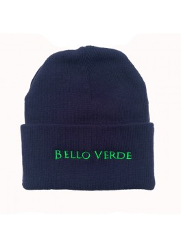 Bello Verde Navy Knit Hat