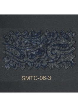 Charcoal and Navy Paisley (FSMTC063)
