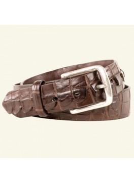 "Hornback Alligator Tail Belt 1½"" Width"