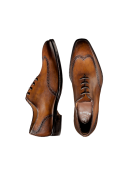 Ginger Wingtip Lace-up