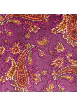 Magenta/Orange Paisley (GLD103418)