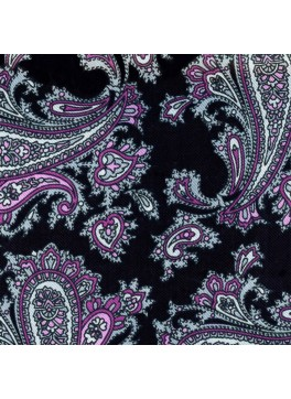 Black/Purple Paisley (GLD10589)