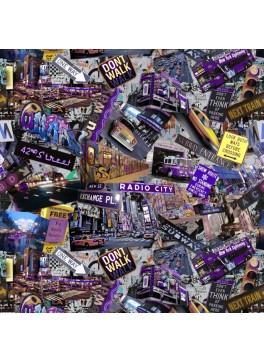 New York Signs (GLD360003)