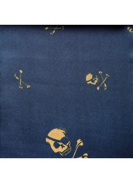 Navy Skull and Crossbones (GLD360013)