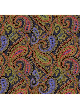 Lime/Purple/Coral Paisley (GLD360185)