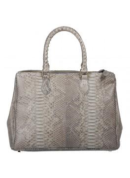 Daniella Python Handbag