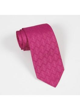 Pink Tone on Tone Jacquard Tie