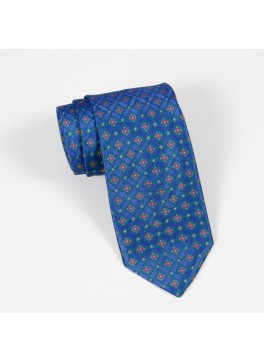 Blue/Green/Pink Neat Tie