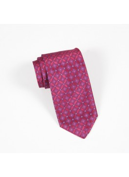 Pink/Blue Neat Tie