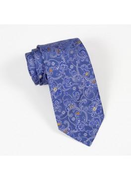 Blue Paisley Tie