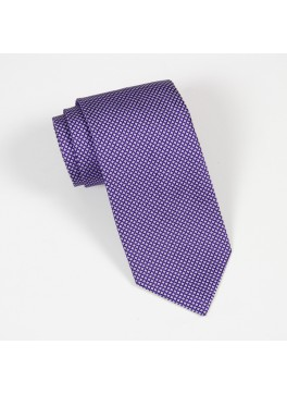 Purple Textured Solid Tie