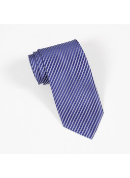 Blue/Grey Stripe Tie